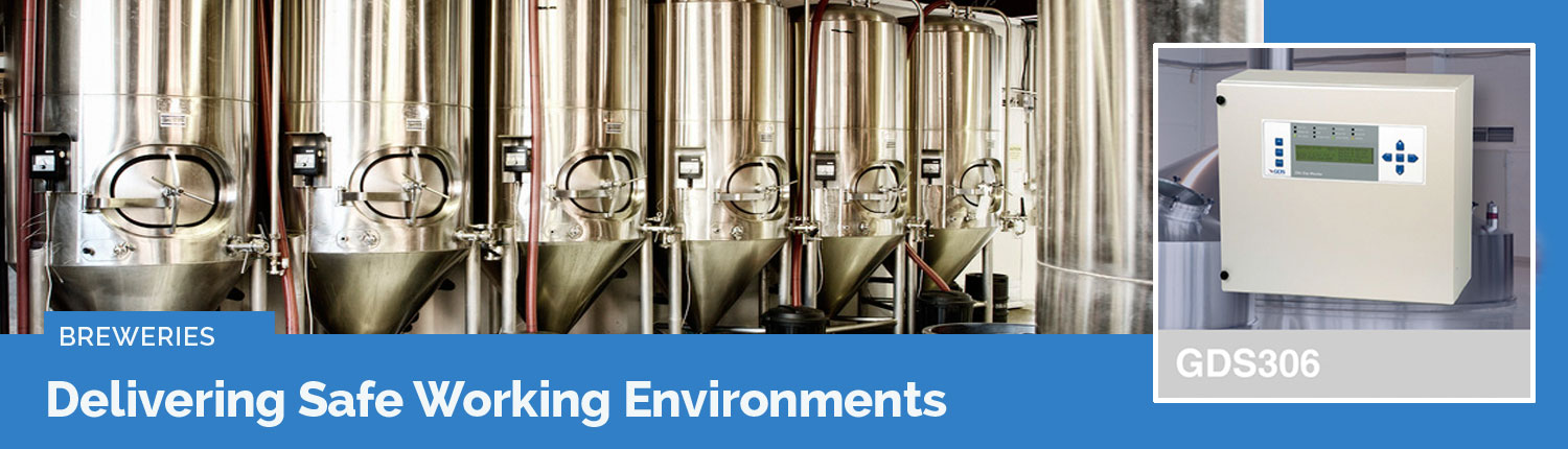 Brewery gas safety systems