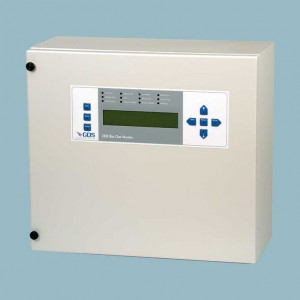 GDS308 flow point sampling gas detection control panel