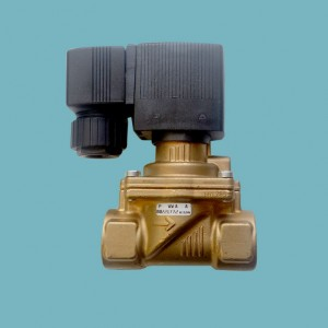 16 bar high pressure gas solenoid isolation valve