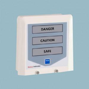 gas leak status indicator